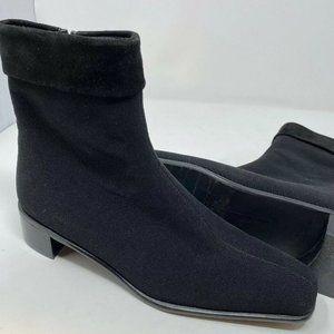 Stuart Weitzman Sz 6 Waterproof Suede Ankle Boots